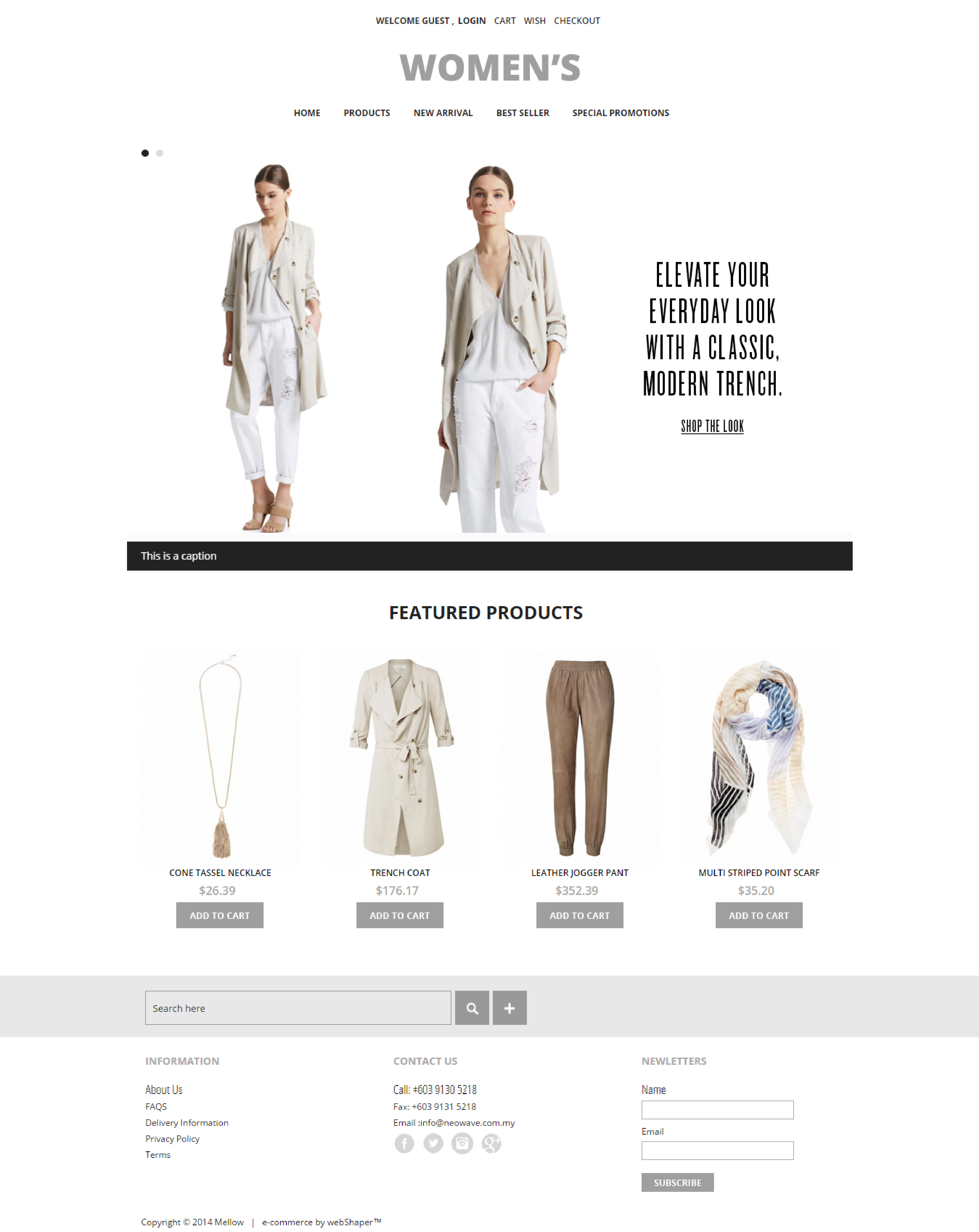 Featured Ecommerce Website Design Women S Sell More Online